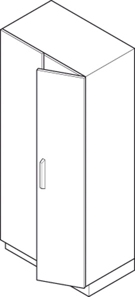 Full Height Cabinets Specification Diagram