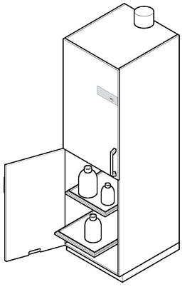 Special Cabinets Specification Diagram