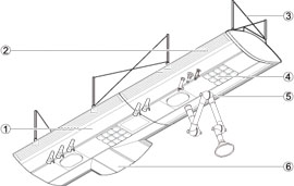 Service Wings Specification Diagram
